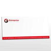 Carte De Correspondance Logo Rf CDC0136